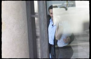 PHOTOS : Pause tendresse pour Carla et Nicolas Sarkozy...