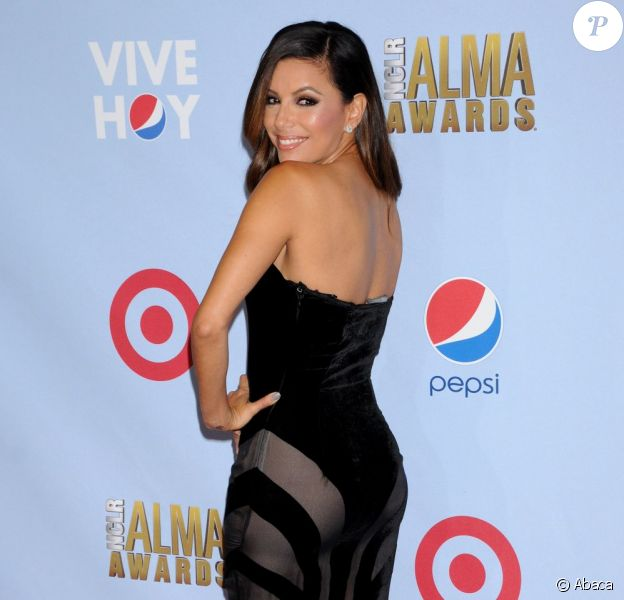 Eva Longoria lors des ALMA Awards à Pasadena, le 16 septembre 2012