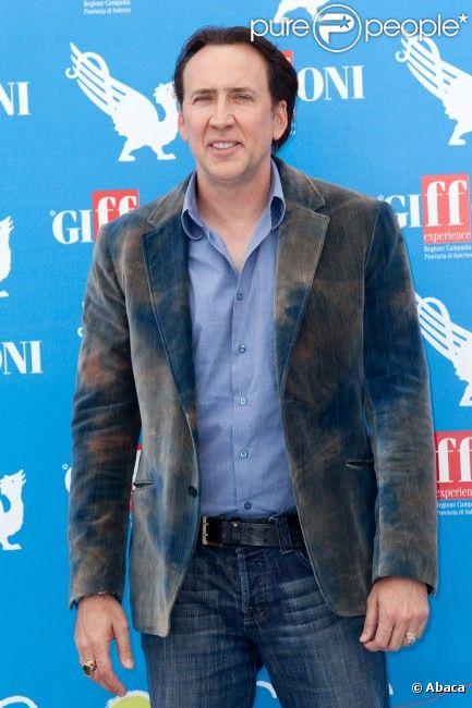 Nicolas Cage, en juillet 2012 en Italie.