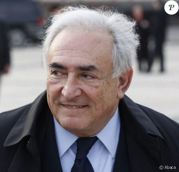 Dominique Strauss-Kahn le 4 avril 2012 à Kiev en Ukraine