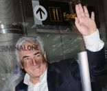 Dominique Strauss-Kahn quitte New York, le 3 septembre 2011.