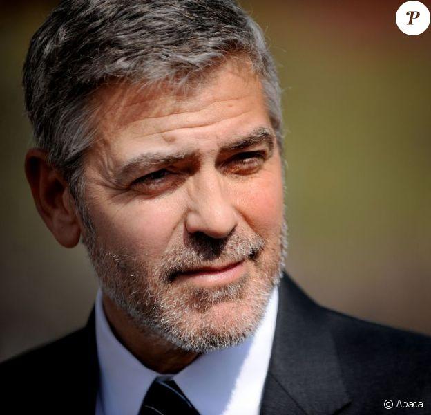 George Clooney en mars 2012.