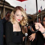Emma Stone et Amanda Seyfried, beautés divines pour la mode à Paris
