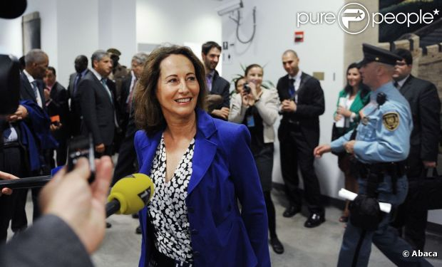 Ségolène Royal aux Nations Unies à New York, le 26 septembre 2012.