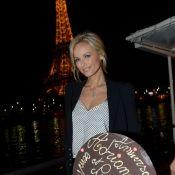 Adriana Karembeu : Superbe anniversaire face à la tour Eiffel avec ses amis