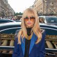 Rachel Zoe arrive à l'opéra Garnier pour le défilé printemps-été 2013 de Stella McCartney. Paris, le 1er octobre 2012.