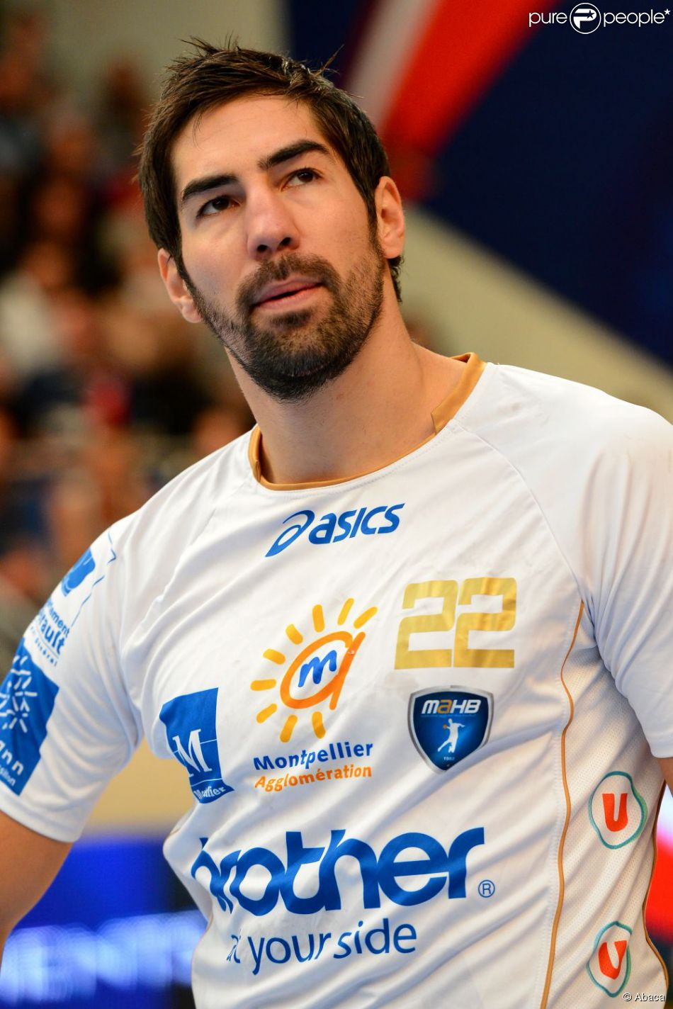 Nikola Karabatic à Paris le 30 septembre 2012