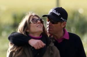 Liz Hurley et Shane Warne : Amoureux et complices pour une partie de golf