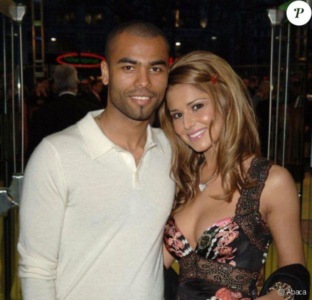 Cheryl et Ashley Cole en 2006, alors fiançés et bientôt mariés.