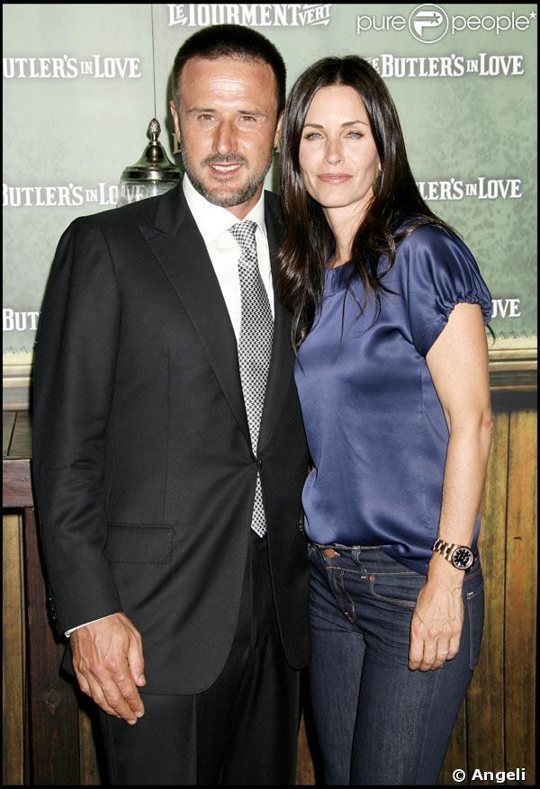 David Arquette et Courteney Cox Arquette