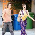 Olivia Wilde et son ex-mari, le prince Tao Ruspoli, à Los Angeles, le 25 octobre 2009.