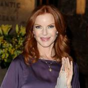 Marcia Cross, sublime soutien pour la Journée internationale de la fille