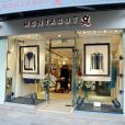 Inauguration de la boutique Montagut rue du Faubourg Saint-Honoré ainsi que le lancement du site de vente en ligne de la marque, à Paris le 11 Octobre 2012.