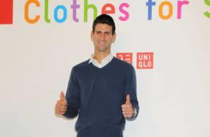 Novak Djokovic : Heureux ambassadeur d'un beau projet en faveur des enfants