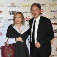 Franco Baresi et sa femme Maura lors de la céremonie du Golden Foot Award à Monaco le 17 Avril 2012 au Sporting de Monte-Carlo