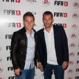 Kevin Gameiro et Sylvain Armand à l'Olympia le 25 septembre 2012 à Paris