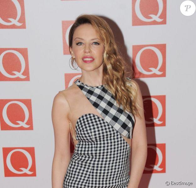 Kylie Minogue à la soirée 2012 Q Awards à Londres, le 22 octobre 2012.