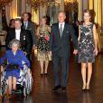 La famille royale de Belgique était réunie le 24 octobre 2012 au palais à Bruxelles pour un concert d'automne offert par le couple royal.