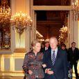 La reine Paola et le roi Albert de Belgique donnaient le 24 octobre 2012 au palais à Bruxelles un concert d'automne offert par le couple royal.