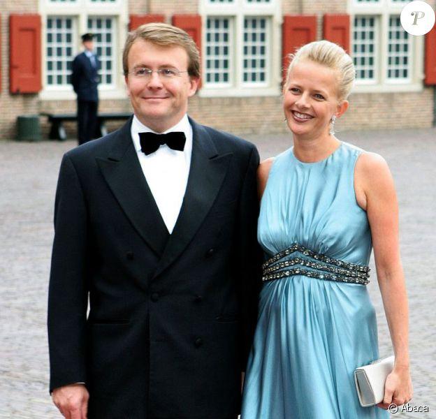 Le prince Friso et la princesse Mabel en septembre 2007 lors du 40e anniversaire du prince Willem-Alexander des Pays-Bas.