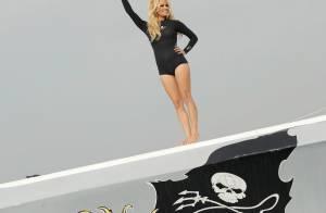 Pamela Anderson : Sexy, la naïade met sa combi pour Sea Shepherd
