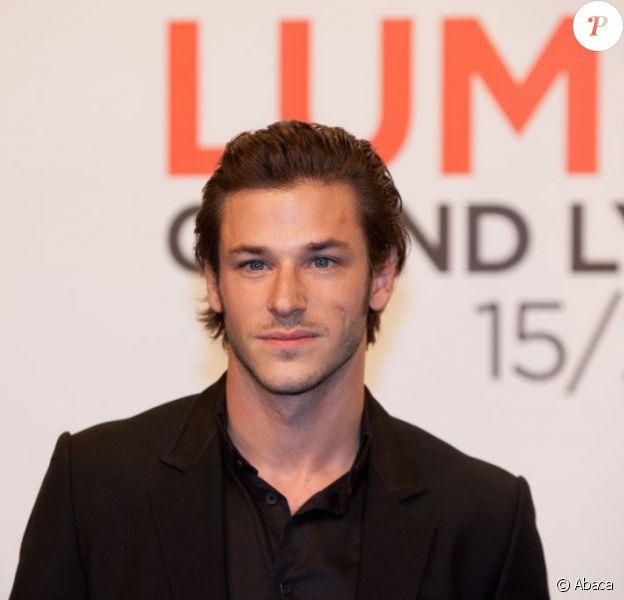Gaspard Ulliel à la cérémonie d'ouverture du Grand Lyon Film Festival le 17 octobre dernier.