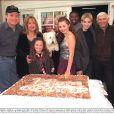 Les acteurs de la série  7 à la maison  fêtaient le 21 novembre 2000 le 100e épisode de la célèbre série.