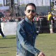 Jared Leto de passage, en spectateur, au Festival Coachella en avril 2012.