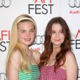 Elle Fanning and Alice Englert au AFI Fest 2012 pour la projection de  Ginger & Rosa , le 7 novembre 2012.