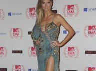MTV EMA : Heidi Klum, sexy et provoc', donne la fessée aux jeunes hommes...