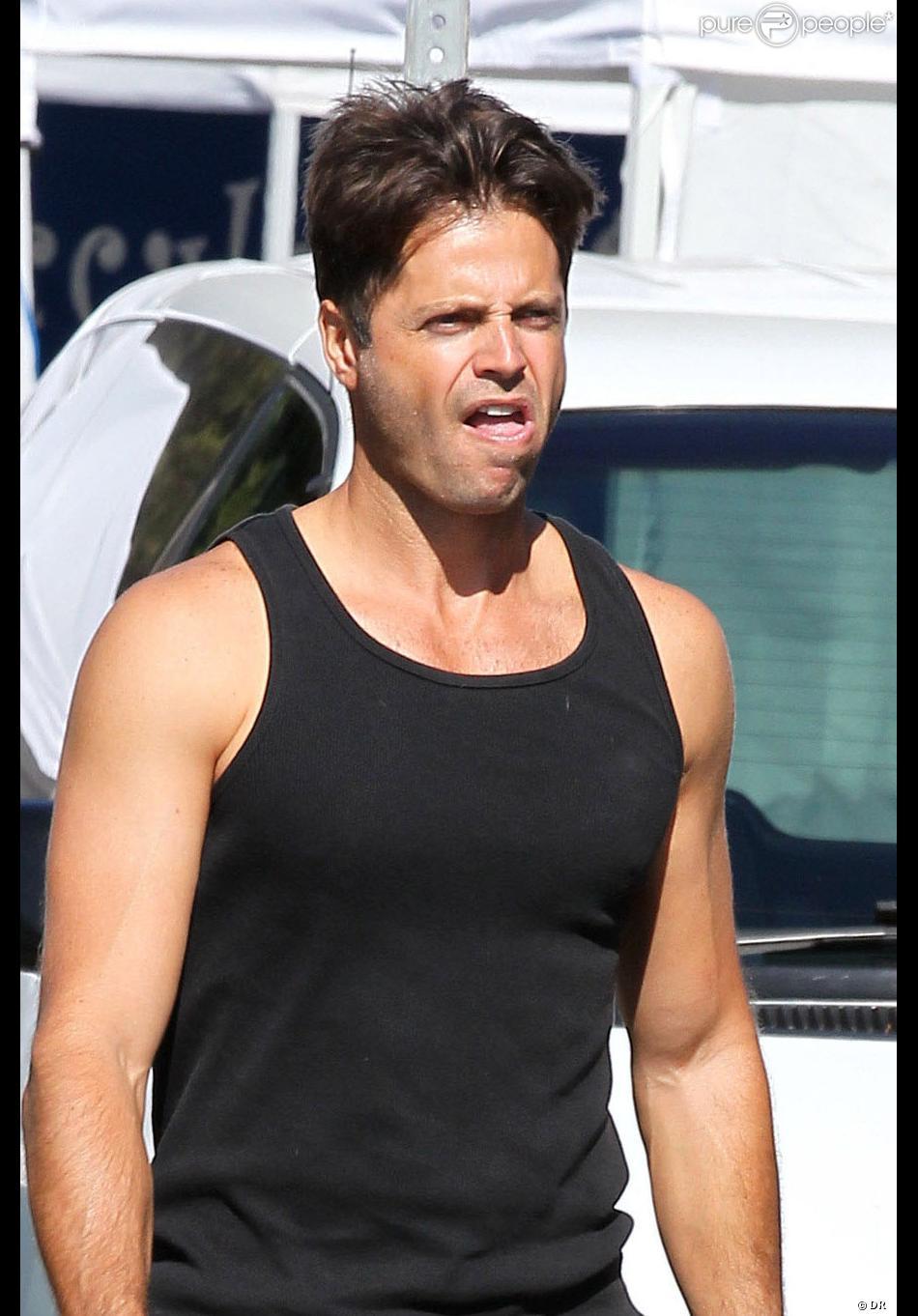 Le beau David Charvet appelle la police après une altercation avec un paparazzo à Malibu, le 4 novembre 2012