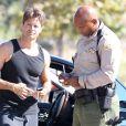 David Charvet a appellé la police après une altercation avec un paparazzo à Malibu, le 4 novembre 2012