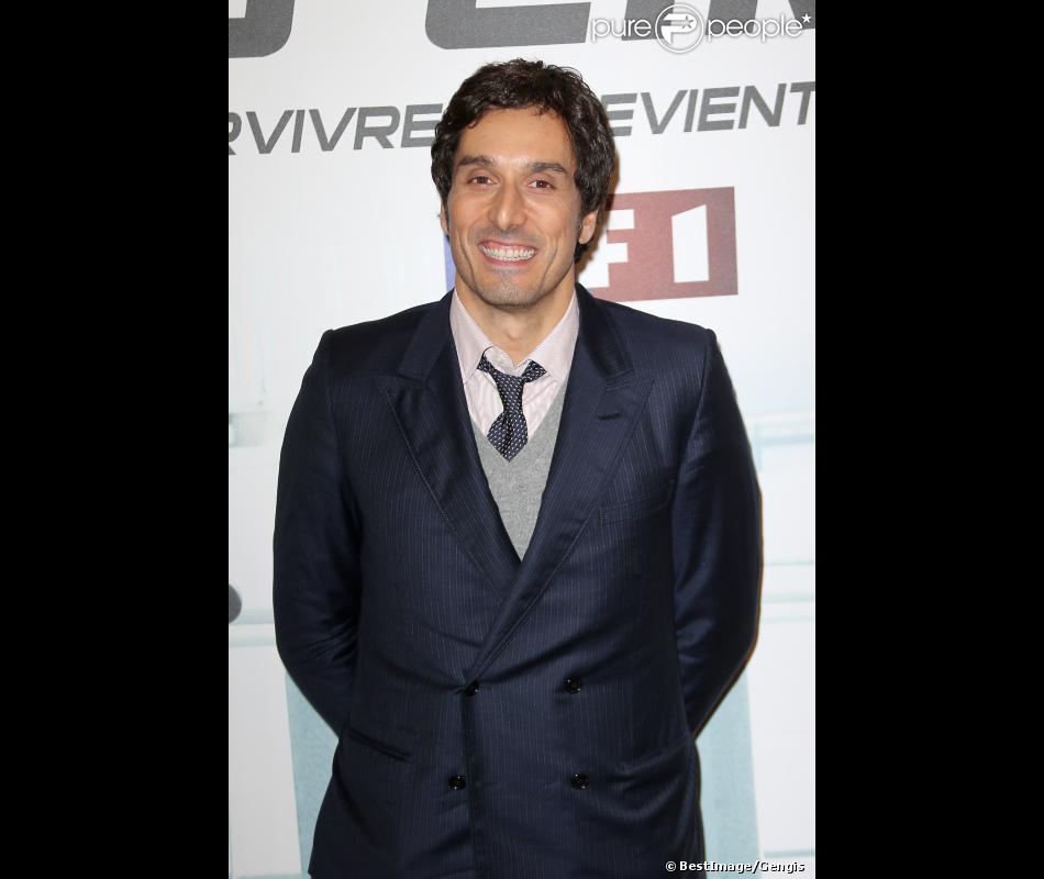 """Vincent Elbaz lors de l'avant premiere de """"No limit"""" à Paris au cinéma Georges V le 13 Novembre 2012."""