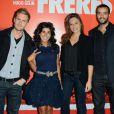 La Bande à Fifi lors de l'avant-première du film Comme des frères à Paris le 15 novembre 2012