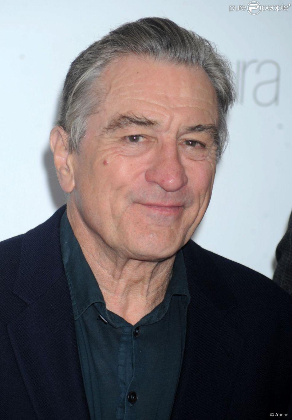 Robert De Niro à New York le 12 novembre 2012.