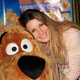 Sophie Thalmann lors de l'avant-première de Scooby Doo 2 aux Folies Bergère à Paris le 18 novembre 2012
