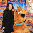 Elisa Tovati lors de l'avant-première de Scooby Doo 2 aux Folies Bergère à Paris le dimanche 18 novembre 2012