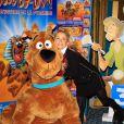 Julie Ferrier lors de l'avant-première de Scooby Doo 2 aux Folies Bergère à Paris le 18 novembre 2012
