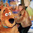 lors de l'avant-première de Scooby Doo 2 aux Folies Bergère à Paris le 18 novembre 2012