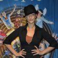 Sheryfa Luna assiste au spectacle du Cirque du soleil le 8 novembre 2011.