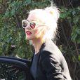 Gwen Stefani et son fils Zuma à Beverly Hills, le 21 novembre 2012.