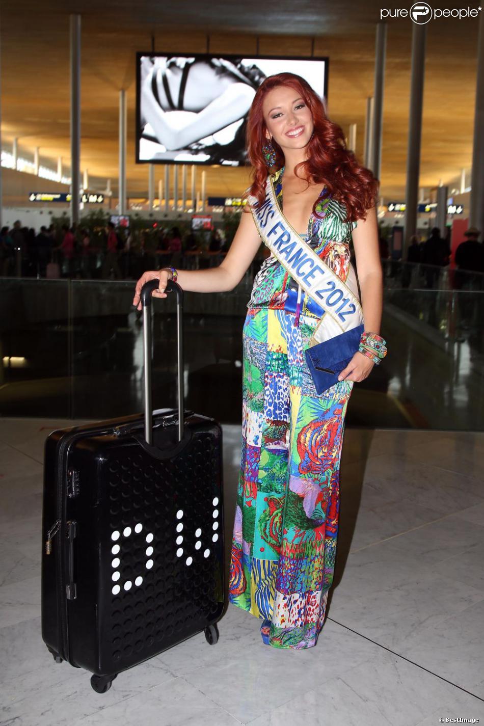Miss France 2012 Miss Monde Départ de Miss France 2012