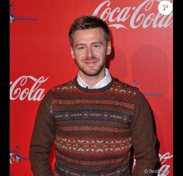 Jonatan Cerrada lors de l'inauguration des vitrines de Noël Coca-Cola au Showcase à Paris le 26 Novembre 2012.