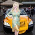 Dolly Parton au parc d'attractions Dollywood à Pigeon Forge, dans le Tennessee, le 14 mars 2012.