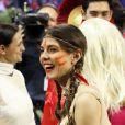 Charlotte Casiraghi, une squaw tout sourire. Epreuve Style & Competition for Amade au Gucci Paris Masters, le 1er décembre 2012 à Villepinte. Créée par Charlotte Casiraghi, cette soirée est l'un des temps forts du Gucci Masters de Paris, où les stars rivalisent de fantaisie pour un spectacle sportif unique.