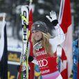 Lindsey Vonn a conclu un week-end parfait en s'imposant lors du Super-G à Lake Louise au Canada le 2 décembre 2012
