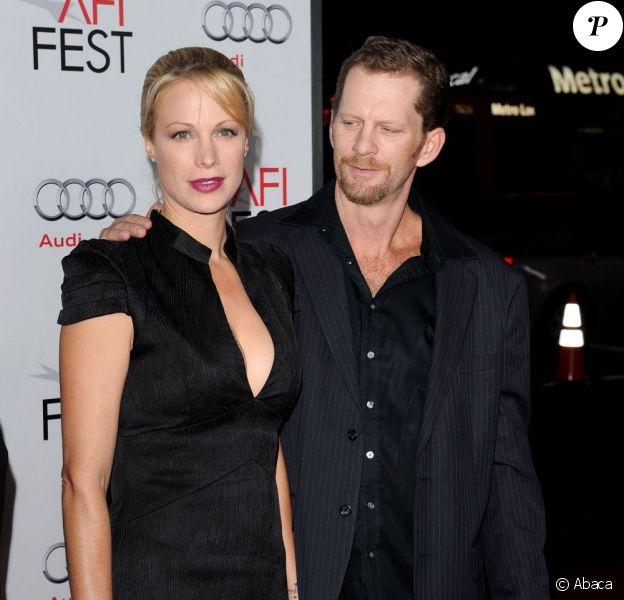 Alison Eastwood et son fiancé Stacy Poitras, le 3 novembre 2011 à Los Angeles