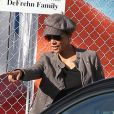 Halle Berry va chercher sa fille Nahla, 4 ans, à l'école à Los Angeles le 3 décembre 2012.