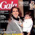 Le magazine  Gala  du 5 décembre 2012.