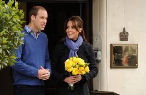 Kate Middleton enceinte : Rayonnante à sa sortie de l'hôpital avec William